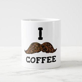 Mig mustaschkaffe jumbo mugg