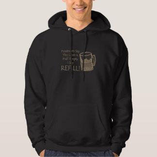 Mig något att sägapåfyllning sweatshirt
