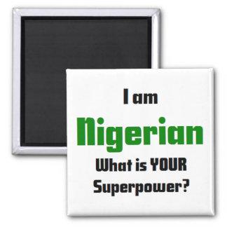 mig nigeriansk förmiddag magnet