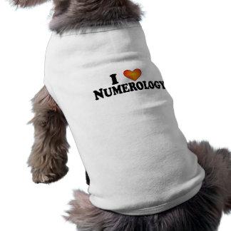 Mig numerology (för hjärta) - hund tröja