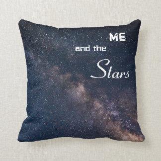 Mig och stjärnorna kudde