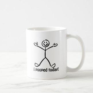 Mig Pooped i dag Kaffe Muggar