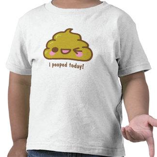 mig POOPED I DAG! Rolig T-tröja