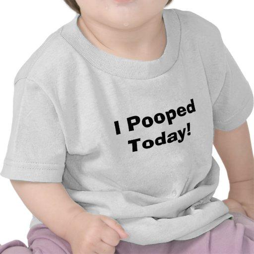 Mig Pooped i dag! T-tröja