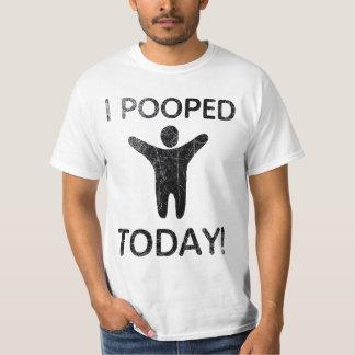 Mig Pooped i dag T-tröja Tee Shirts