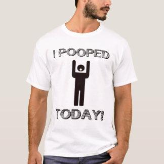 Mig Pooped i dag T-tröja Tshirts