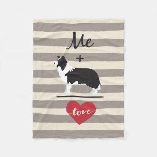 Mig positiv filt för ull för kärlek för