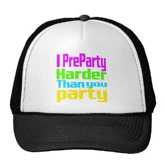 Mig Preparty som är mer hård än dig party Mesh Kepsar