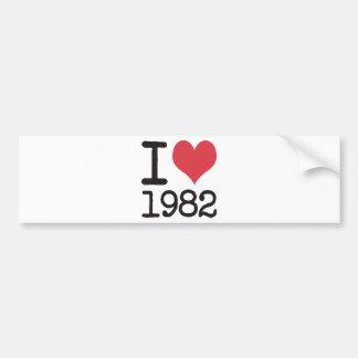 Mig produkter Love1982 & designer! Bildekal