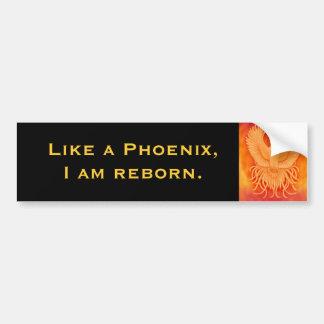 Mig Reborn Phoenix för förmiddag bildekal