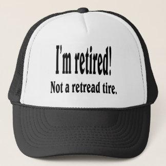 Mig retired. förmiddag truckerkeps