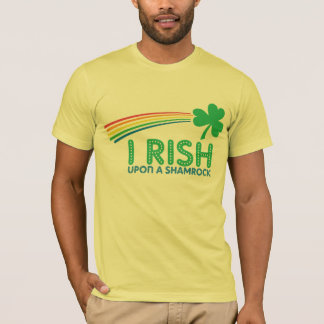 Mig RISH på en Shamrock Tshirts