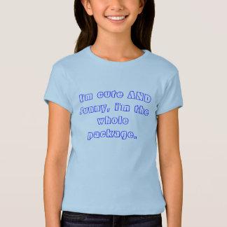 Mig rolig förmiddag som är gullig OCH, I-förmiddag T-shirts