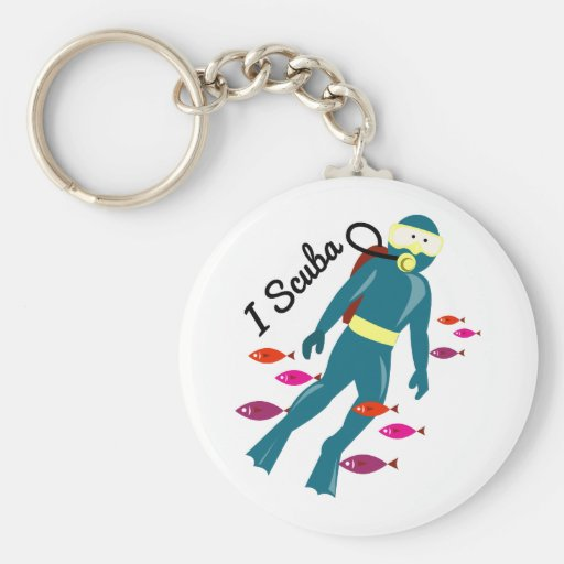 Mig Scuba Nyckel Ring