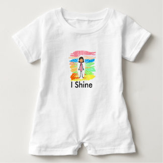 """Mig sken"" babyRomper Tee Shirts"