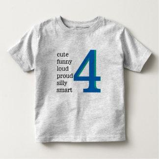 Mig skjorta för förmiddag 4 t-shirts