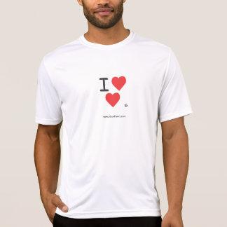 Mig skjorta för kapacitet för logotyp för Luv Tröjor
