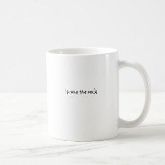 Mig som är fattig formen kaffemugg