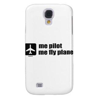 mig som är pilot- mig klipskt flygplan galaxy s4 fodral