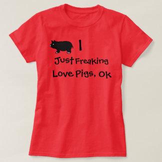 Mig som flipper ur precis kärlekgrisar, Ok T-shirt