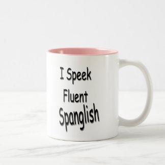 Mig Speek Spanglish mugg