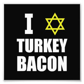 Mig stjärnaTurkiet bacon Fototryck