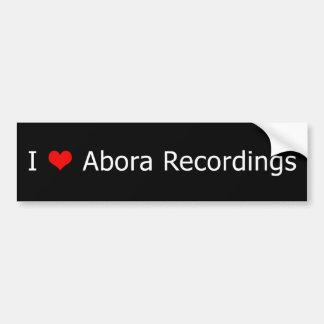 Mig svart 1 för bildekal för ♥Abora inspelningar