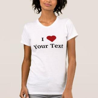 Mig t-skjorta för hjärta personifiera t shirts