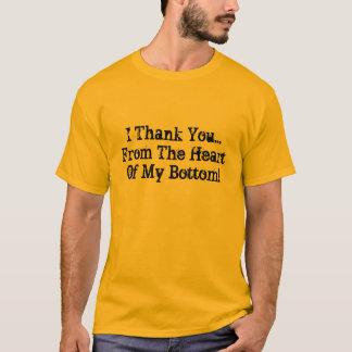 Mig tack… från hjärtan av min grund! tröja