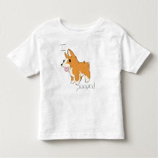 Mig utslagsplats för Pooped Corgismåbarn T-shirts