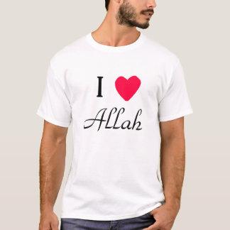 Mig utslagsplatsskjorta för <3 Allah Tee Shirts
