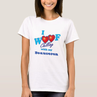 Mig Woof Beauceron T Shirts