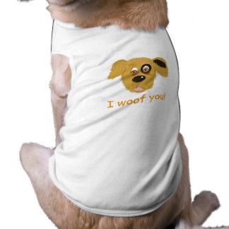 Mig Woof dig! Hundkärlek Husdjurströja
