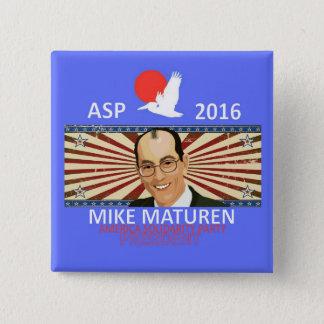 Mike Maturen ASP Standard Kanpp Fyrkantig 5.1 Cm