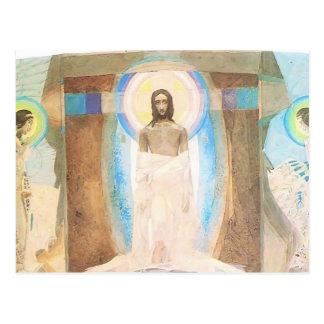 Mikhail Vrubel- uppståndelse Vykort