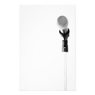Mikrofon Brevpapper