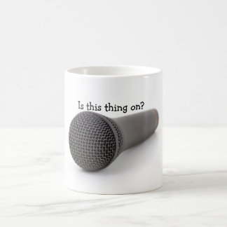 Mikrofon Kaffemugg