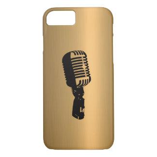 Mikrofonen brons på förkopprar verkställer