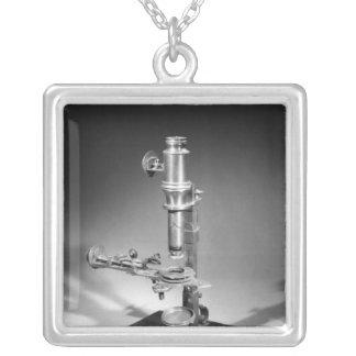 Mikroskop Silverpläterat Halsband