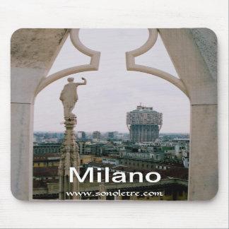 Milan horisontpanorama Mousepad Mus Mattor