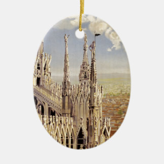 Milano Julgransprydnad Keramik
