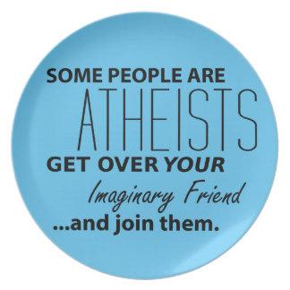 Militant ateist: Något folk är ateister! Tallrik