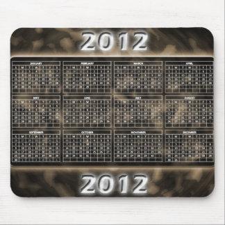 Militär kalender Mousepad för design 2012 Mus Matta