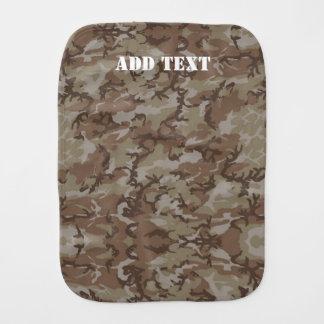 Militär kamouflage för skogsmarköken bebistrasa