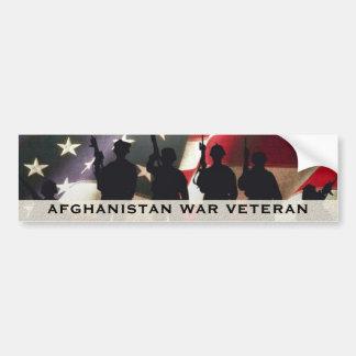 Militär krigveteran Afghanistan Bildekal