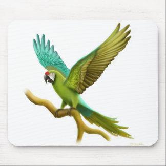 Militär Macaw Mousepad Musmatta