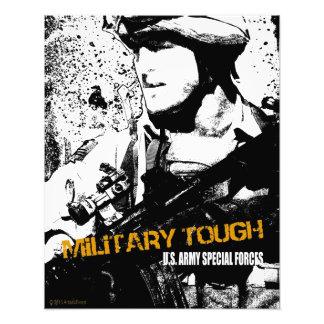 Militär tuff fotokonst