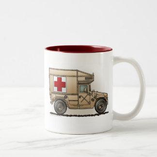Militära Hummermuggar för ambulans Två-Tonad Mugg