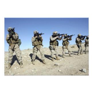 Militära Transistion gruppmedlemmar Fototryck