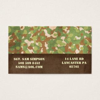 militära visitkortar visitkort